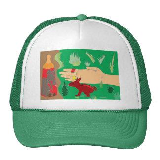 Squeezed Elephants Mesh Hat