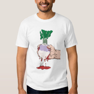 Squeezing Blood from Turnip T Shirt