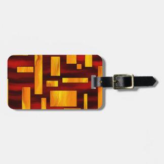 Squesmios V1 - squarefire Luggage Tag