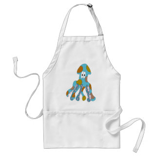 Squid Adult Apron