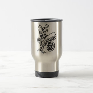 Squid and Whale Travel Mug