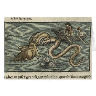 Squid Attack Card