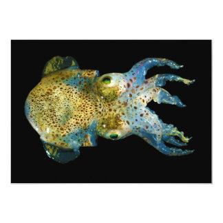 Squid Bobtail Dumpling Stubby Sepiola Atlantica Card