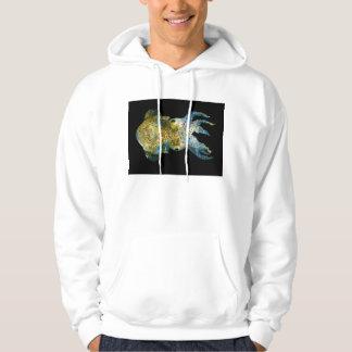 Squid Bobtail Dumpling Stubby Sepiola Atlantica Hooded Sweatshirt