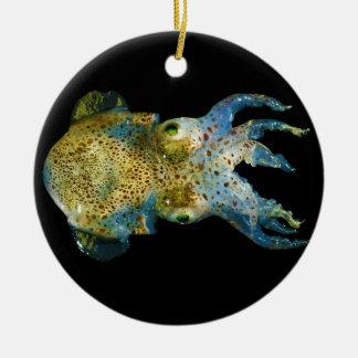 Squid Bobtail Dumpling Stubby Sepiola Atlantica Ornaments