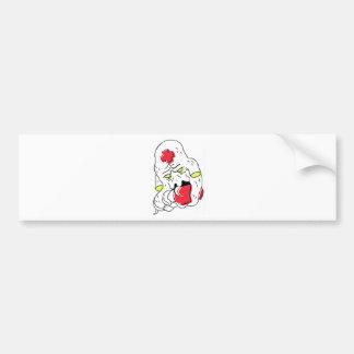 squid bumper sticker
