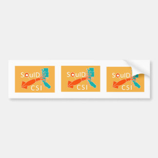 Squid CSI Bumper Sticker