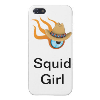 Squid Girl Cover For iPhone SE/5/5s