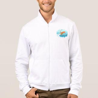 squid graphic design jacket