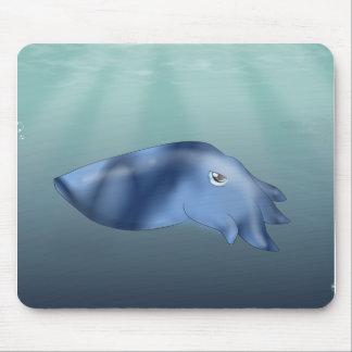Squid in Ocean Mouse Pad