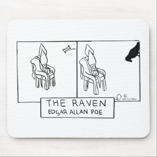 Squid Ink - The Raven Mouse Pad