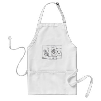 Squid Ink - The Tyger Adult Apron