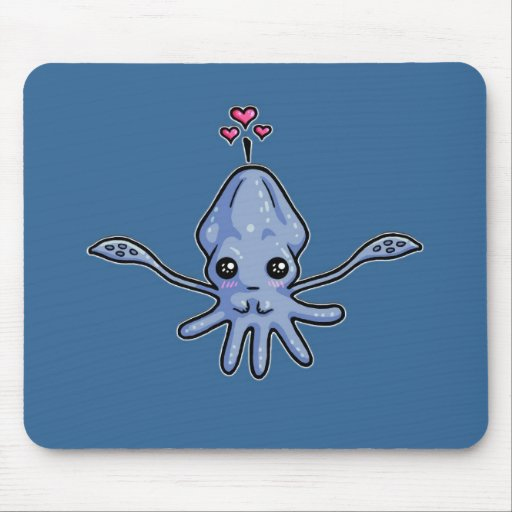 Squid Love Mouse Pad
