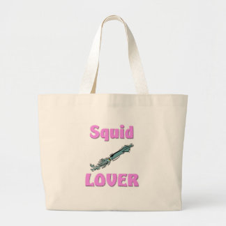 Squid Lover Large Tote Bag