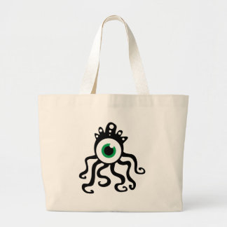 Squid Monster Large Tote Bag