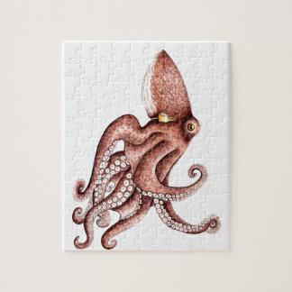 Squid - Octopus vulgaris Jigsaw Puzzle