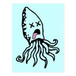 Squid Postcard