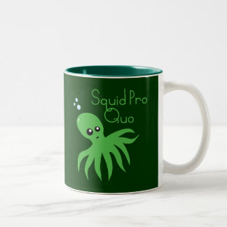 Squid Pro Quo Coffee Mugs