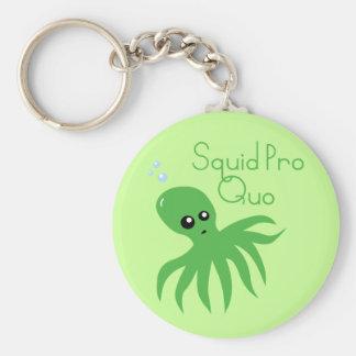 Squid Pro Quo Keychain
