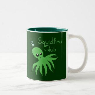 Squid Pro Quo Two-Tone Coffee Mug