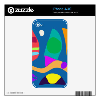 Squid Decals For The iPhone 4S