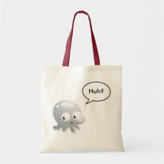Squid Speech Bubble Tote Bag