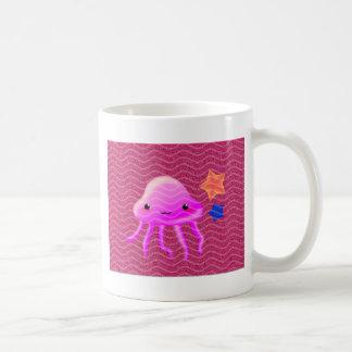 squid star fish hot summer mugs