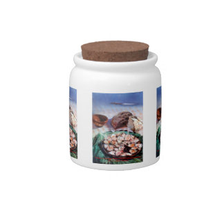 Squid to Gallego/Dust to feira/Galician octopus Candy Jars