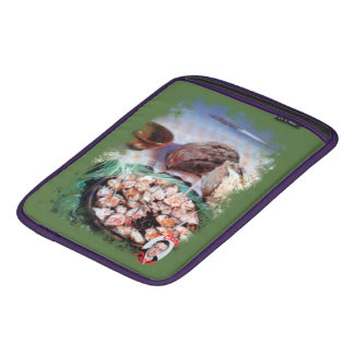 Squid to Gallego/Dust to feira/Galician octopus iPad Sleeve
