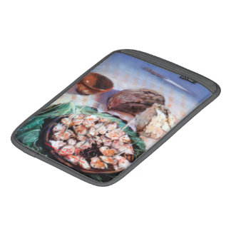 Squid to Gallego/Dust to feira/Galician octopus Sleeve For iPads