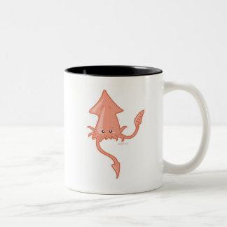 Squid Two-Tone Coffee Mug