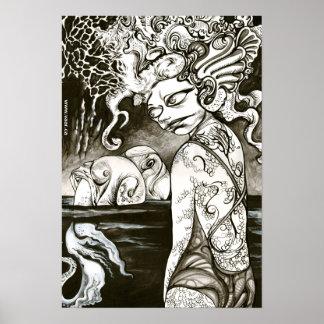 Squidgirl Poster