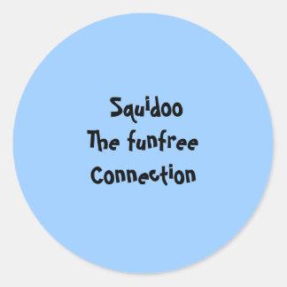 Squidoo- The funfree Connection - Sticker