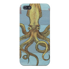 Squids Of The Deep Iphone 4 Case at Zazzle
