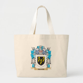 Squier Coat of Arms - Family Crest Canvas Bag
