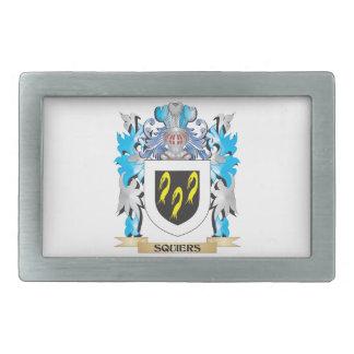 Squiers Coat of Arms - Family Crest Belt Buckle
