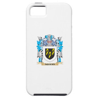 Squiers Coat of Arms - Family Crest iPhone 5 Cases