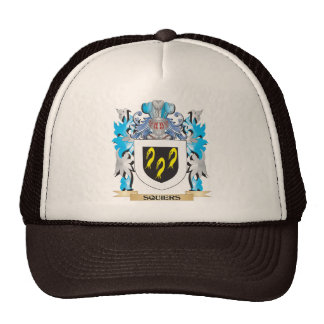 Squiers Coat of Arms - Family Crest Mesh Hat