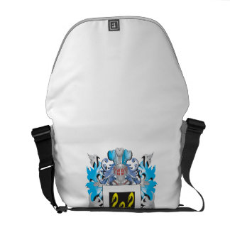 Squiers Coat of Arms - Family Crest Messenger Bags