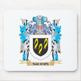 Squiers Coat of Arms - Family Crest Mouse Pad