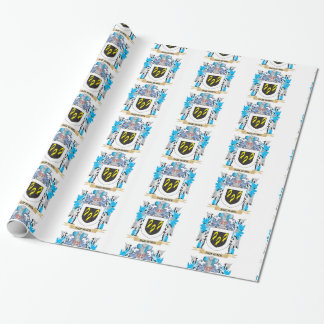 Squiers Coat of Arms - Family Crest Wrapping Paper
