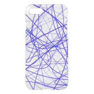 Squiggle Blue iPhone 8/7 Case