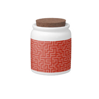 Squiggle candy jar
