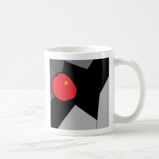 Squiggle Classic White Coffee Mug