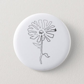 squiggle flower button