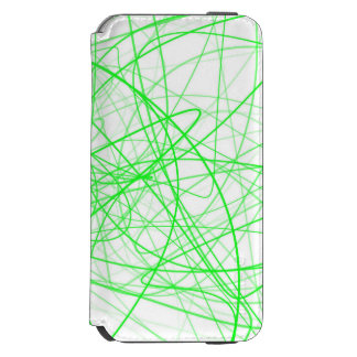 Squiggle Green iPhone 6/6s Wallet Case
