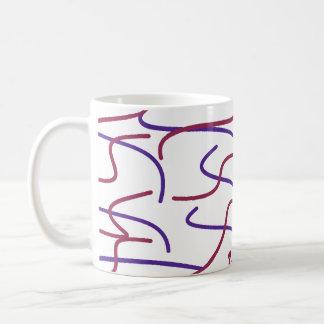 Squiggle Lines Mug