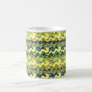 Squiggle Pattern Coffee Mug