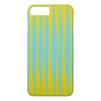 Squiggles Green & Aqua iPhone Case