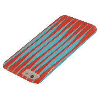 Squiggles Red & Aqua iPhone Case